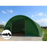 Hangár 9,15x20m 4,5m magas / 720g/m2 PVC / Tűzálló / 1m szerkezeti távolság