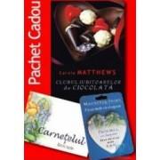Pachet - Clubul Iubitoarelor de Ciocolata + Carnetel Fiica + Magnet