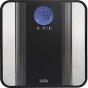 Cantar electronic Laica Bodyfat & Bodywater PS5012 180 kg Diviziune 100g Negru