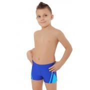 Costum de baie boxeri pentru băieți Ben albastru 122