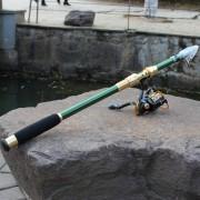 1.8m De Carbono Caña De Pescar Polo Travel Portable, Color Al Azar Entrega
