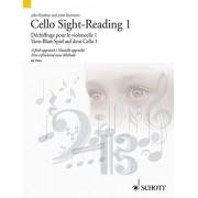 Kember, John Cello Sight-Reading 1: Dechiffrage Pour Le Violoncelle 1/Vom-Blatt-Spiel Auf Dem Cello 1