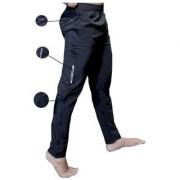 Nike Black Polyester Lycra Track pants