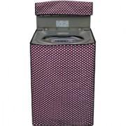 Glassiano Washing Machine Cover For IFB TL RCG 6.5Kg Aqua Fully Automatic Top Loading Washing Machine S 45