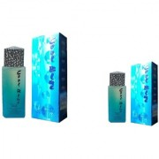 Omsr Cool Blue Spray perfume for unisex combo of two (100+40) 140 ml