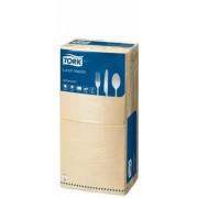 Szalvéta, 1/4 hajtogatott, 2 rétegű, 32x32 cm, Advanced, TORK Lunch, homokszín (KHH188)