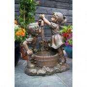 Ubbink Fontaine de jardin Memphis Ubbink grise en résine