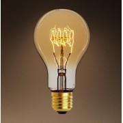 Bec decorativ Edison clasic A19 E27 60W 15AK