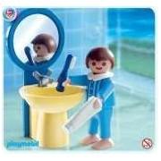 Playmobil - 4661 - La Maison Moderne - - L'enfant : Lavabo + Miroir