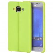 Funda Case para Samsung Galaxy J7 de Plastico tipo TPU Flexible -Verde