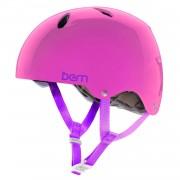 Bern Kask Bern Diabla translucent pink