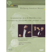 Video Delta Mozart - Symphony n. 40 in G minor, k550 - Symphony n. 31 in D major 'Paris', k 297 - DVD
