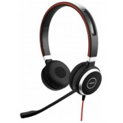Casti Stereo Jabra Evolve 40 MS, Microfon (Negru)