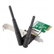 LAN Card, PCI-E, Edimax EW-7612PIN, Wireless 2.4Ghz, 802.11n/g/b, Realtek