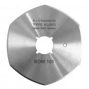 Kruhový nůž KURIS BOM 30/80 6-CURVES BS