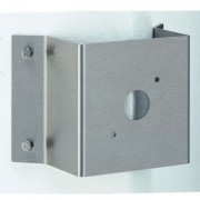 Large corner block for outdoor wall lights