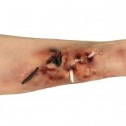 Set de maquillaje carne artificial y gusanos