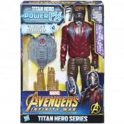 Hasbro marvel avengers infinity war star-lord titan hero power fx, personaggio 30 cm,e0611103