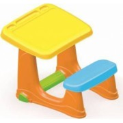 Masuta de studiu cu scaun - Orange
