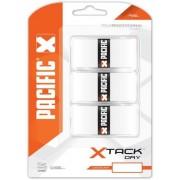 Pacific X Tack Pro Overgrip Feel Wit 0.55 mm 3 Stuks