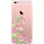 Skin iPhone 6 6S Devia Silicon Bluebell Pink