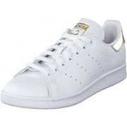 adidas Originals Stan Smith W Ftwwht/ftwwht/goldmt, Skor, Sneakers & Sportskor, Låga sneakers, Vit, Dam, 36