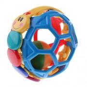 MagiDeal Baby Soft Grasping Handball Einstein Bendy Ball Rattle Fun Teether Toy Children Kids Educational Gift