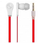 Global Technology Gt Auricolare A Filo Stereo Be Bass In-Ear Universale Jack 3,5mm Per Musica Red Per Modelli A Marchio Doro