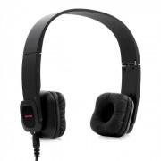 KUL-03 Auscultadores Speaker Microfone Pele Bluetooth Preto