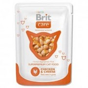 Brit Care Adult Chicken Cheese alutasakos 80g