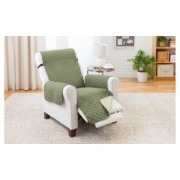 Odash Reversible Furniture Protector for Chair, Recliner, Loveseat, or Sofa Recliner Olive/Sage