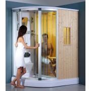 items-france BRESCIA 2 - Hammam sauna douche hydromassante 160x120x218