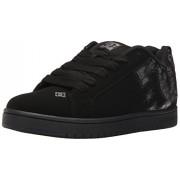 DC Men s Court Graffik SE Skate Shoe Black Print 7 D(M) US
