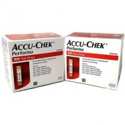 ACCU-CHEK PERFORMA 100 STRIPS ( EXPIRY 09/2018) PACK OF 2 (TOTAL 200 TEST STRIPS)