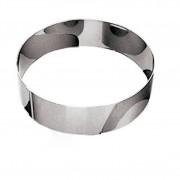 Gobel Cercle à vacherin en inox 18/10 - hauteur 6 cm - diamètre 40 cm - A l'unité - Cercle à vacherin - Gobel