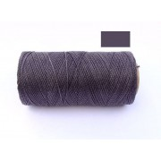 Macrame Koord - ZACHT PAARS / SOFT PURPLE - Waxed Polyester Cord - Klos 2800 cm - 1mm dik
