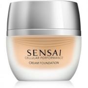 Sensai Cellular Performance Foundations maquillaje en crema SPF 15 tono CF 24 Amber Beige 30 ml
