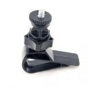 Suport Auto Camera GoPro Fixare Parasolar Negru