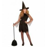 Costum Vrajitoare Clasica Halloween Widmann 5 - 7 ani 128 cm