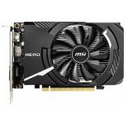 Видеокарта MSI GeForce GTX 1650 1665Mhz PCI-E 3.0 4096Mb 8000Mhz 128 bit HDMI DVI-D HDCP GTX 1650 AERO ITX OC