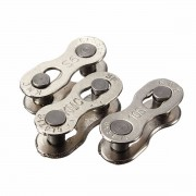 Meco Two Durable Silver Bicycle Chain KMC Magic Buckle of 6-7-8-9-10 Speed Button