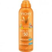 Vichy Idéal Soleil Capital sanftes sandabweisendes Schutzspray für Kinder SPF 50+ 200 ml