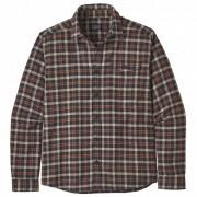 Patagonia - L/S LW Fjord Flannel Shirt - Chemise taille XL, brun/noir/gris