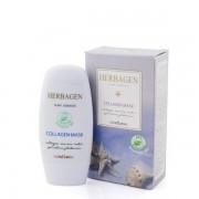 Masca Bio cu colagen marin si spirulina, 50ml, Herbagen
