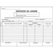 Dispozitie de livrare, A5, 100 file, fata-verso, 3 bucati/set