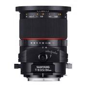 Samyang Obiettivo 24mm F/3.5 ED AS UMC Tilt-Shift per Nikon, Nero