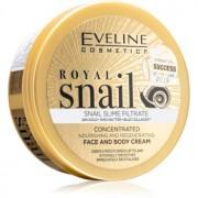 Eveline Cosmetics Royal Snail cremă intens hrănitoare pentru fata si corp 200 ml