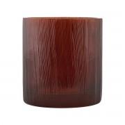 House Doctor Ljusstake för värmeljus, Details, burgundy/brun