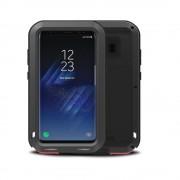 Samsung Galaxy S8 Plus Black Metal Water Resistant Shockproof Case