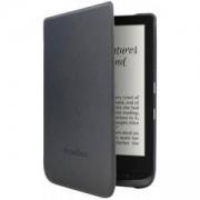 Калъф PocketBook Shell за eBook четец PocketBook Basic Lux 2/PocketBook Touch Lux 4, 6 инча, черен, POCKET-COVER-PB616-BLACK